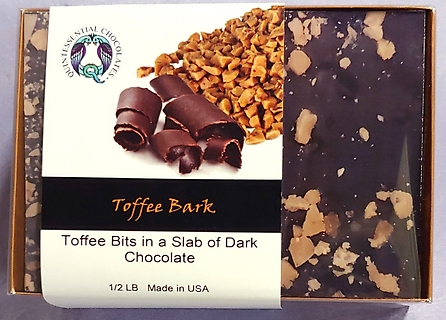 Quintessential Chocolate Box - Toffee Bark