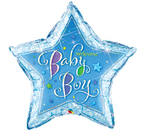 Oversized Welcome Baby Boy/Girl Balloon