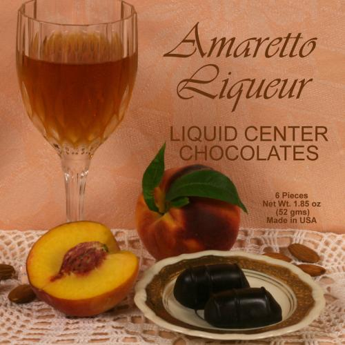Quintessential Amaretto Chocolate 6 pc