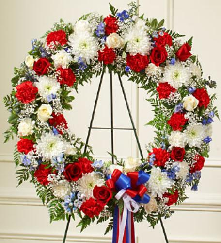 Serenity Wreath - Patriotic