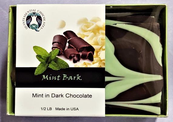 Quintessential Chocolate Box - Mint Dark Bark