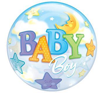 Baby Boy/Girl Bubble Balloon