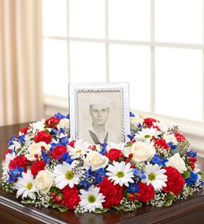 Memorial Table Wreath - Patriotic
