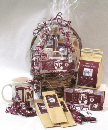 Aggie Coffee Break Gift Basket
