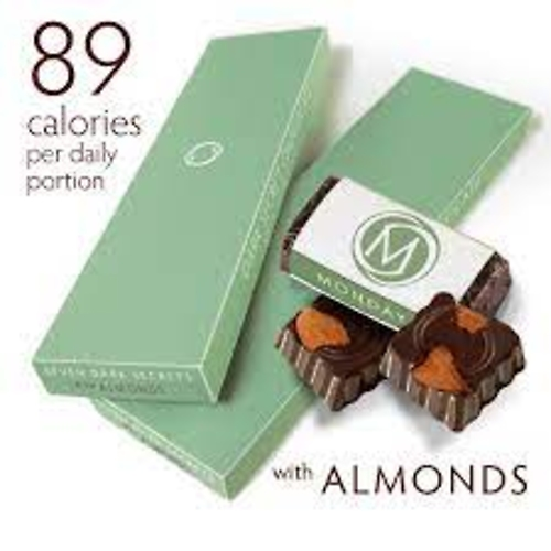 Dark Chocolate with Almonds - 7 Day Supply