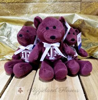 Texas A&M Embroidered Plush Bear