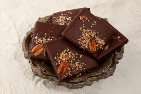 Wiseman House Dark Chocolate Pecan Toffee 2 pc