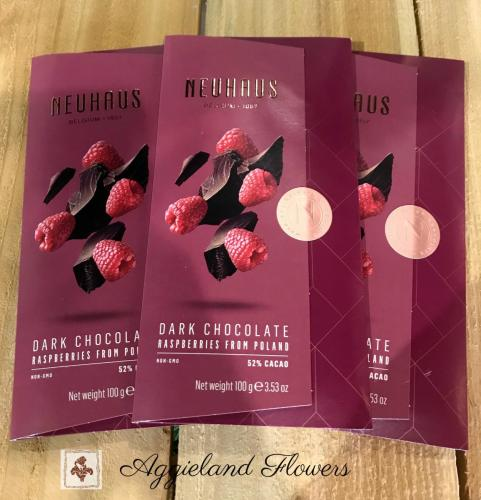 Neuhaus Dark Chocolate Tablet Raspberry -Poland