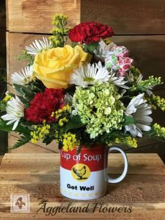 Get Well Mug & Balloon ~ ER Package option