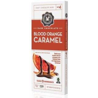 Dark Blood Orange Caramel Bar