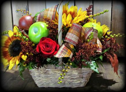 Rustic Traditions Fall Basket