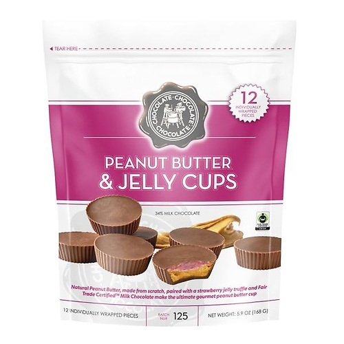Peanut Butter & Jelly Cups 12 PC