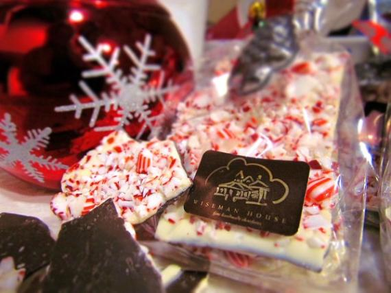 Holiday Wiseman House Peppermint Bark