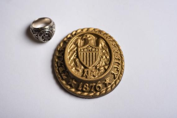 Aggie Ring Seal in Chocolate!