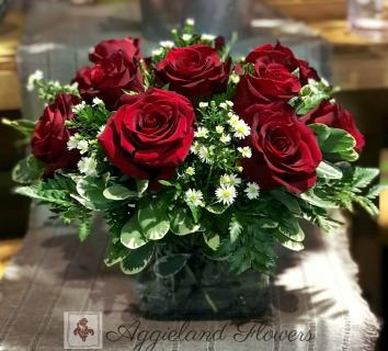 Dozen Red Roses 50% Off