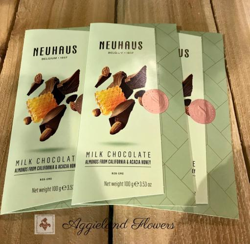 Neuhaus Milk Chocolate Tablet Almonds and Honey