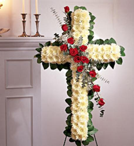 Cross of Grace with Roses