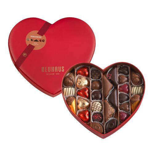 Neuhaus Luxury Red Heart Collection 28 pc