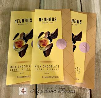 Neuhaus Milk Chocolate Tablet Creme Brulee