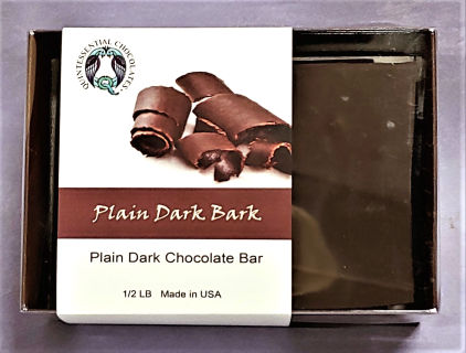 Quintessential Chocolate Box - Plain Dark Bark