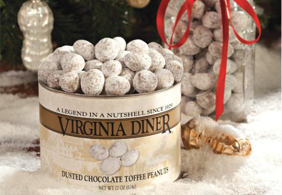 Dusted Chocolate Toffee Peanuts 12 oz