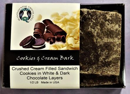 Quintessential Chocolate Box - Cookies & Cream Bark