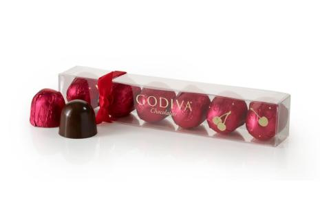 Godiva Chocolate Cherries 6 pc