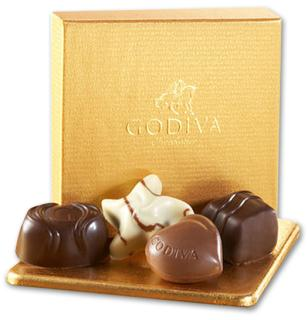 Godiva Gold Collection 4 pc