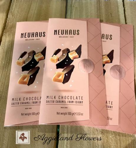 Neuhaus Milk Chocolate Tablet Salted Caramel -Isigny