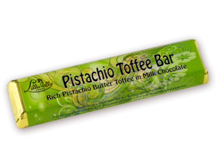Lillie Belle Farms Pistachio Toffee Bars 1.5 oz