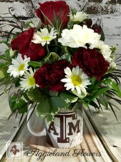 Aggie Mug Hug & Treat!