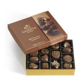 Godiva Milk Chocolate Gift Box