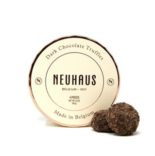 Neuhaus Dark Chocolate Truffles 4 pc