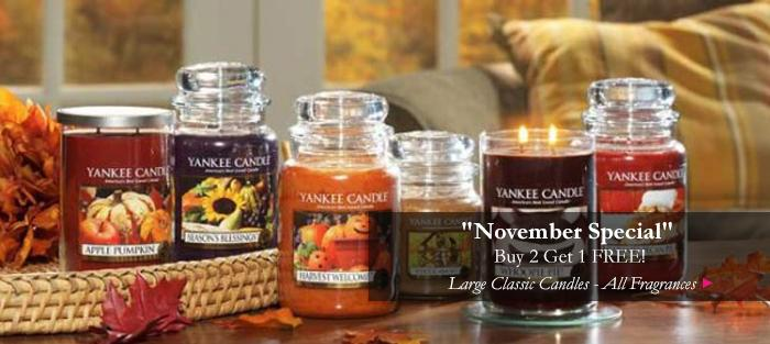 Yankee Candles - Fall