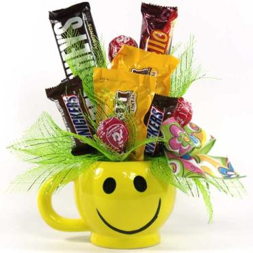 Happy Face Candy Bouquet!
